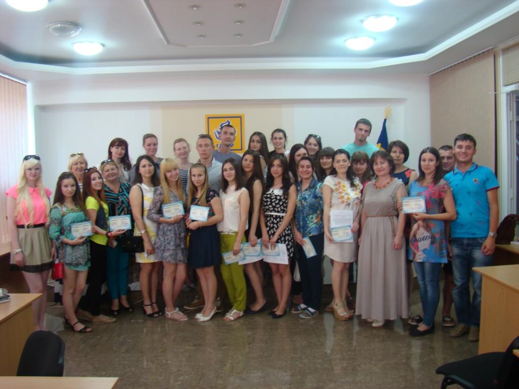 В Измаильском университете чествовали  первых выпускников специализированных курсов