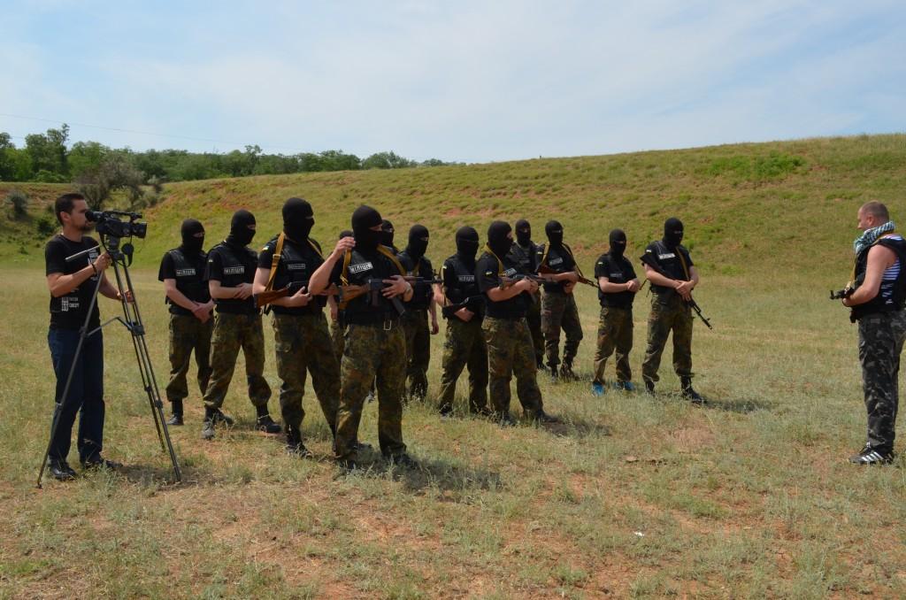 Измаильские правоохранители на тактических занятиях на полигоне