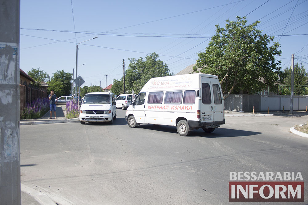 "ДТП в Измаиле: ""Daewoo Matiz"" & ""Ford Transit"""