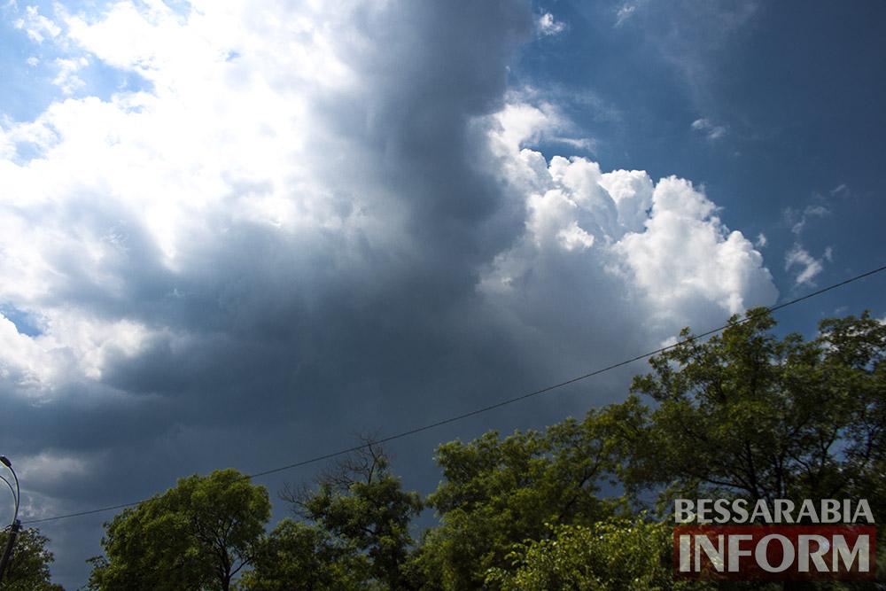 Июньский ливень в Измаиле (фоторепортаж)