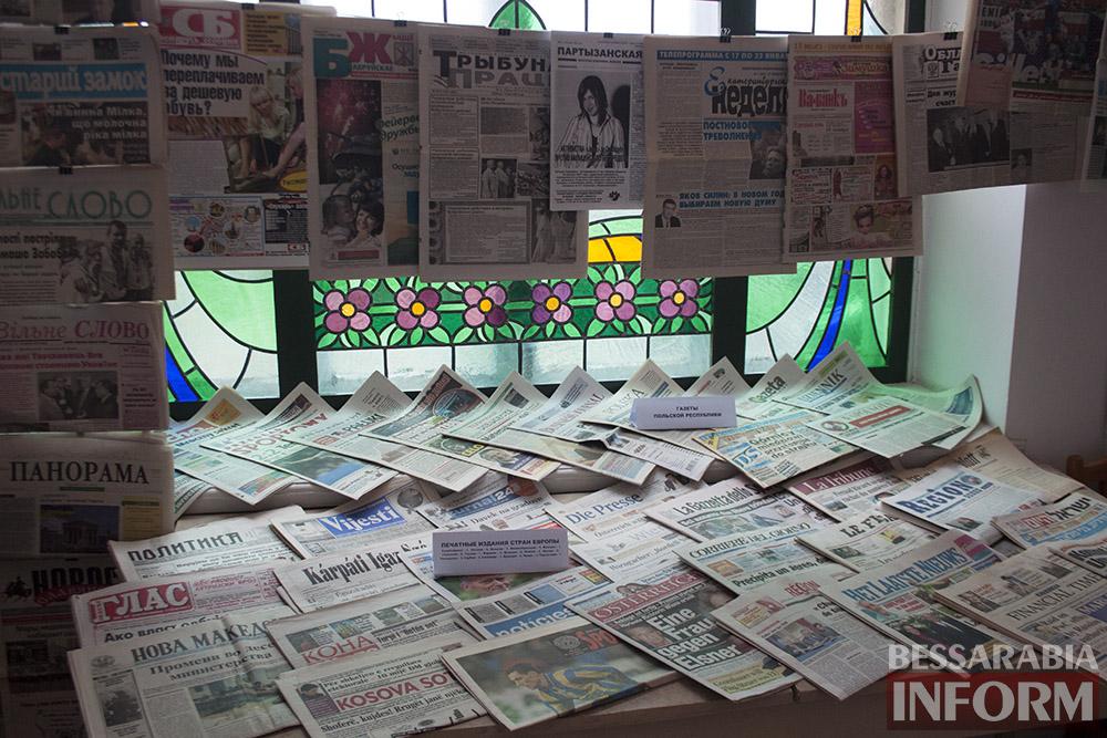 IMG_2235 Измаил: в музее Придунавья презентовали уникальную коллекцию газет (фото)