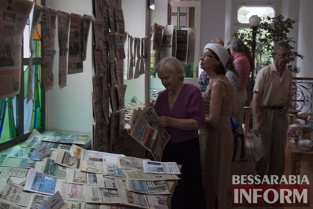 IMG_2243 Измаил: в музее Придунавья презентовали уникальную коллекцию газет (фото)
