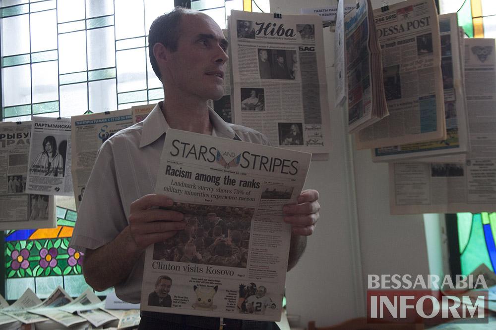 IMG_2296 Измаил: в музее Придунавья презентовали уникальную коллекцию газет (фото)