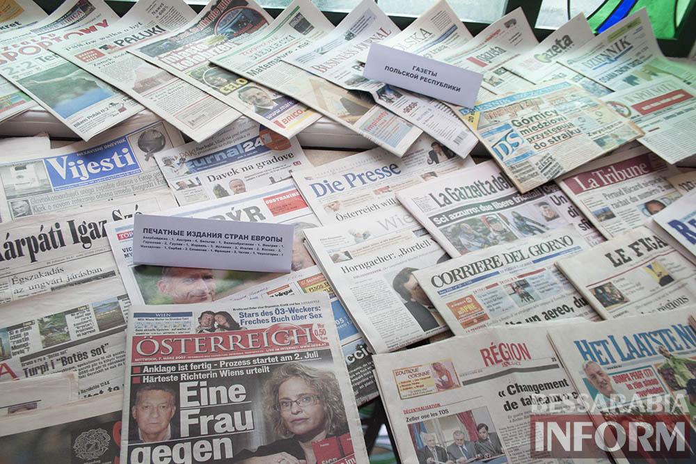 IMG_2323 Измаил: в музее Придунавья презентовали уникальную коллекцию газет (фото)