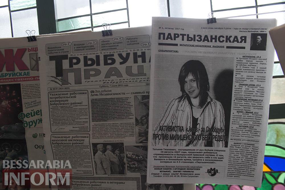 IMG_2325 Измаил: в музее Придунавья презентовали уникальную коллекцию газет (фото)