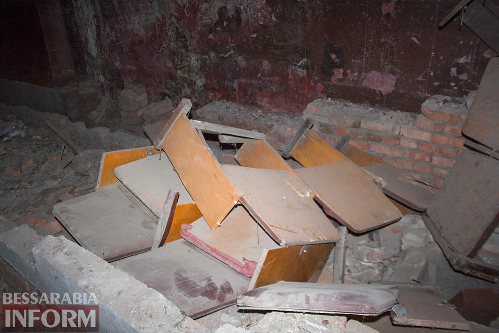 IMG_2680 Печальная судьба измаильского кинотеатра «Победа» (фоторепортаж)