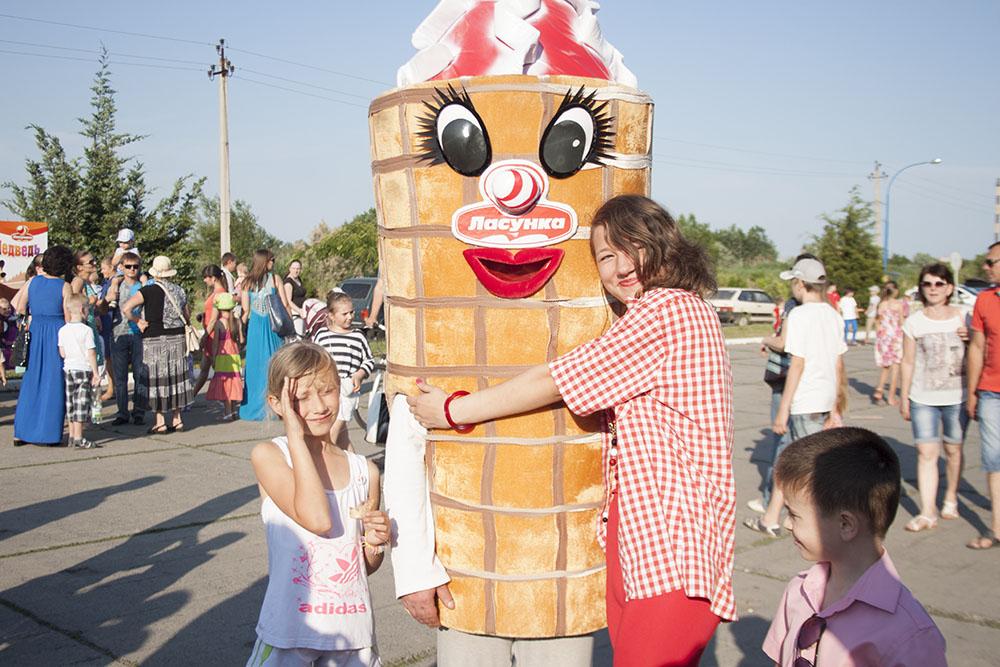 Измаильчанам подарили Праздник мороженого (фоторепортаж)