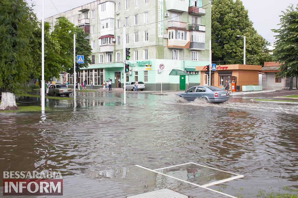 В Измаиле произошел потоп (фото)