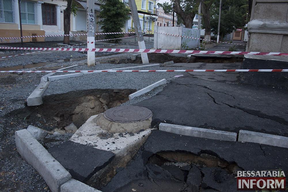 IMG_4371 Измаил: последствие вчерашнего ливня (фото)