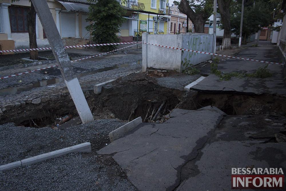 IMG_4375 Измаил: последствие вчерашнего ливня (фото)