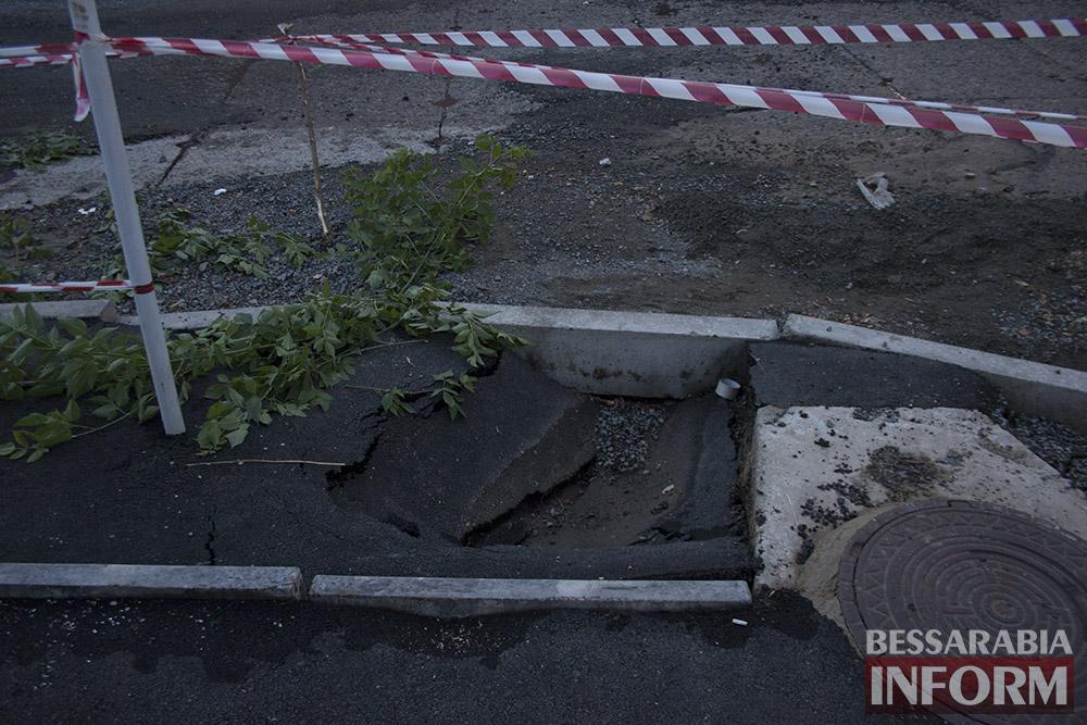 Измаил: последствие вчерашнего ливня (фото)