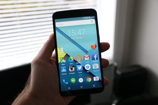 Nexus-6 Топ-10 лучших смартфонов 2015 года