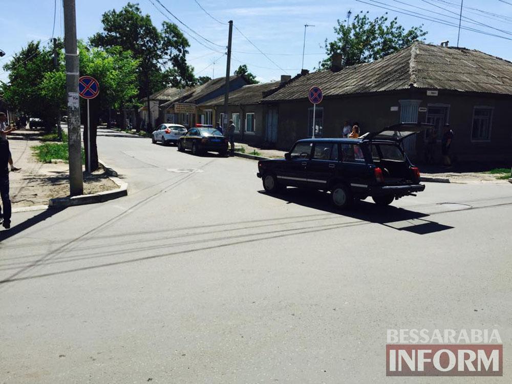 В Измаиле возле автостанции произошло ДТП