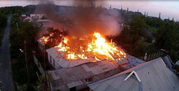 Обстановка на Донбассе: Горловка пережила самый тяжелый обстрел