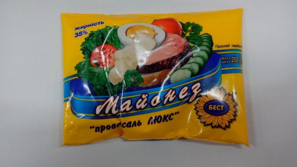 """Измаильская СЭС предупредила об опасности употребления майонеза """"Провансаль Люкс"""""""