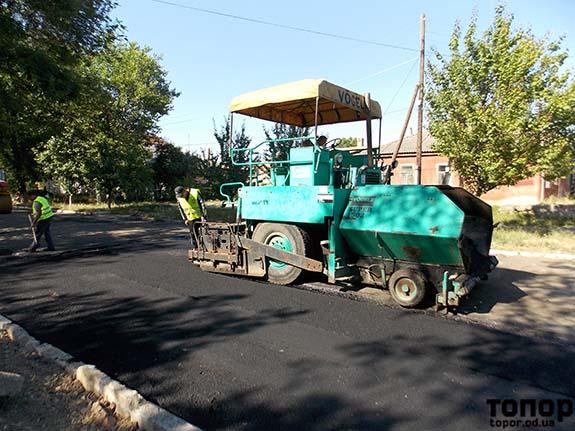 В Болграде вовсю занялись ремонтом дорог