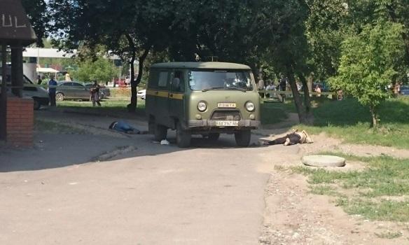 """В Харькове расстреляли сотрудников """"Укрпочты"""""""