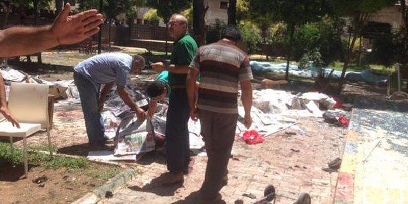 В Турции страшный взрыв убил десятки человек (видео, фото 18+)