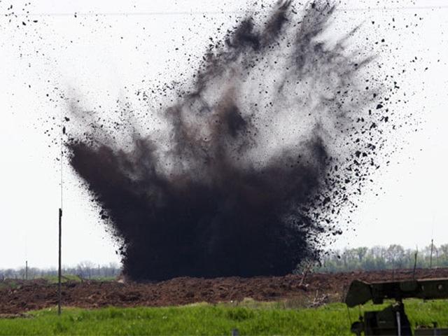 35462 Ситуация в АТО: в результате взрыва погибли военные