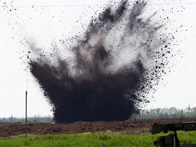 На Донбассе женщина подорвалась на мине