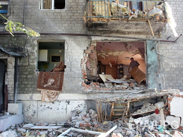 471025 Обстрел Авдеевки: людей разорвало в клочья