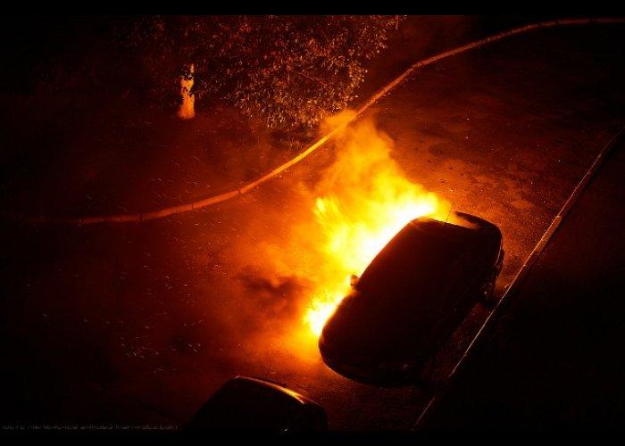 743494378 В Измаиле горел автомобиль