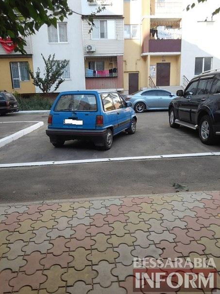 BN4S3ssNzeY «Я паркуюсь как …» в одном из измаильских дворов
