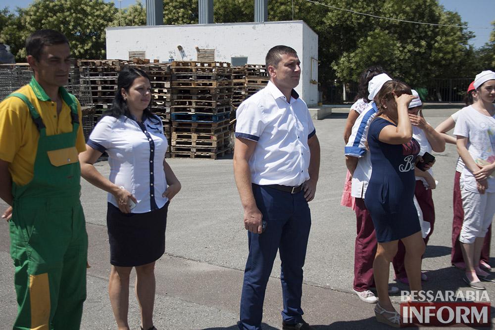"""В Измаиле сотрудники """"Таврии-В"""" учились бороться с огнем (фото)"""