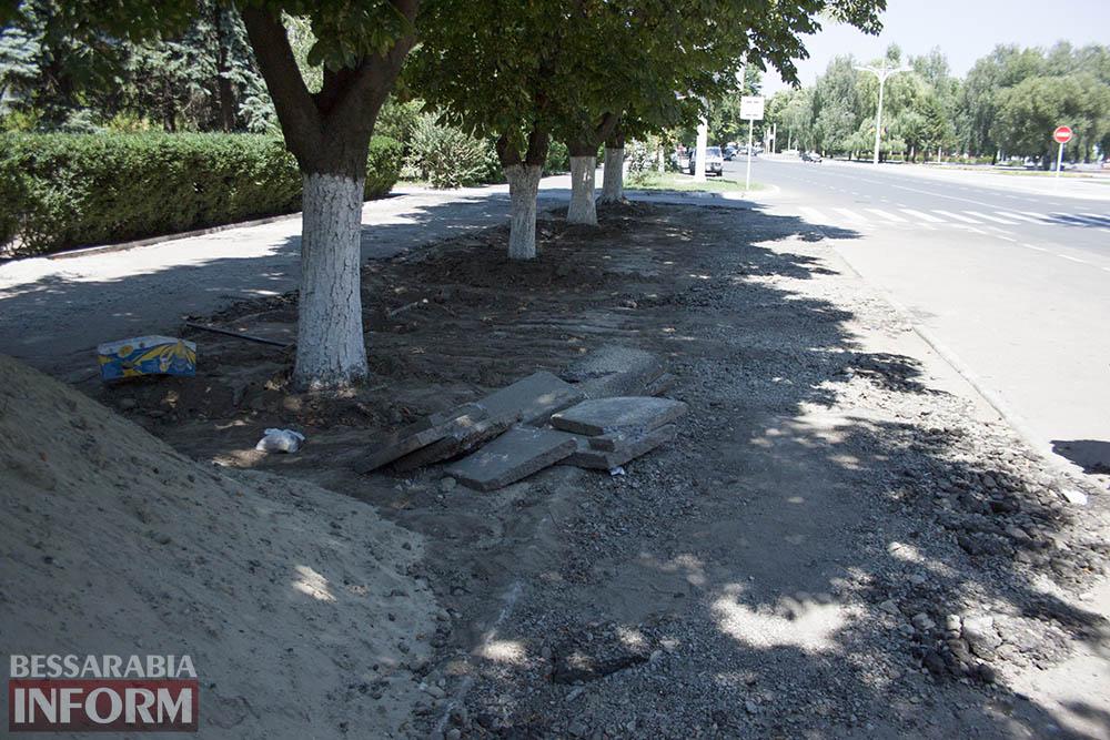 IMG_0233 В Измаиле возле детской поликлиники расширят парковку