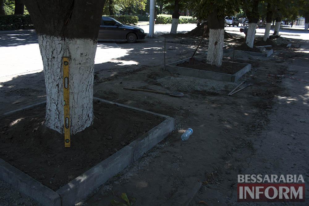 IMG_0241 В Измаиле возле детской поликлиники расширят парковку