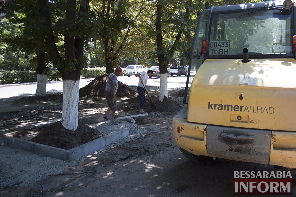 IMG_0246 В Измаиле возле детской поликлиники расширят парковку