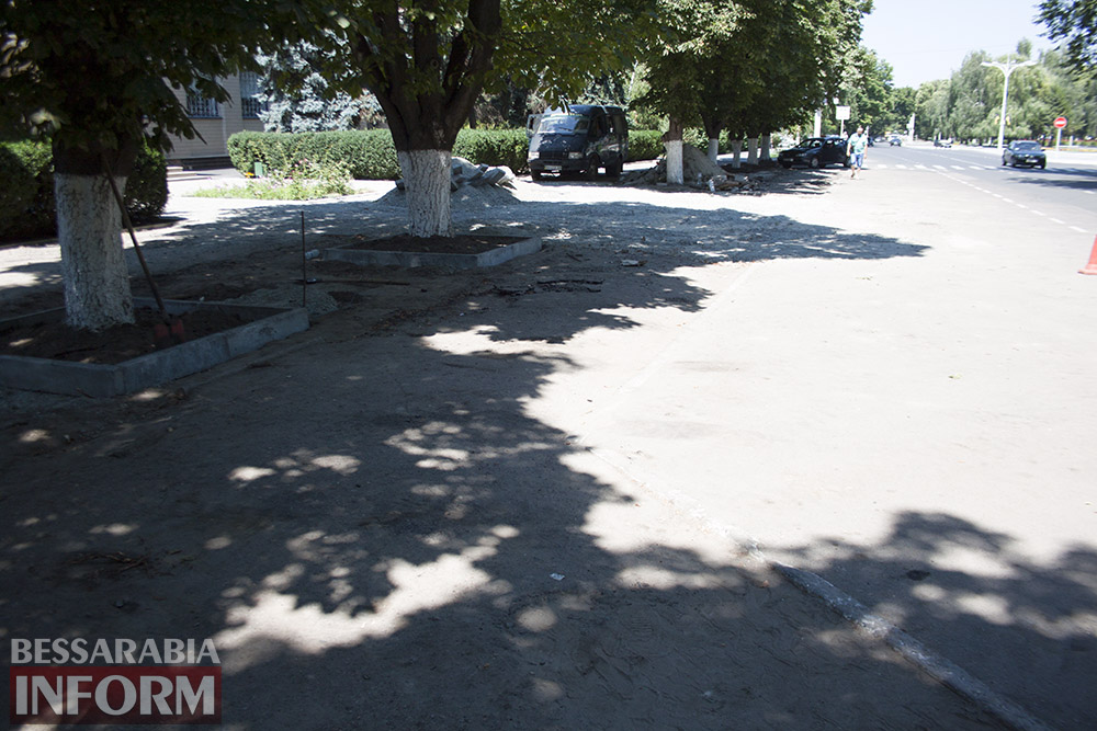 В Измаиле возле детской поликлиники расширят парковку