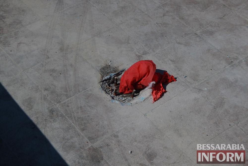 IMG_0277 Центральный фонтан в Измаиле будет освещаться в патриотических тонах