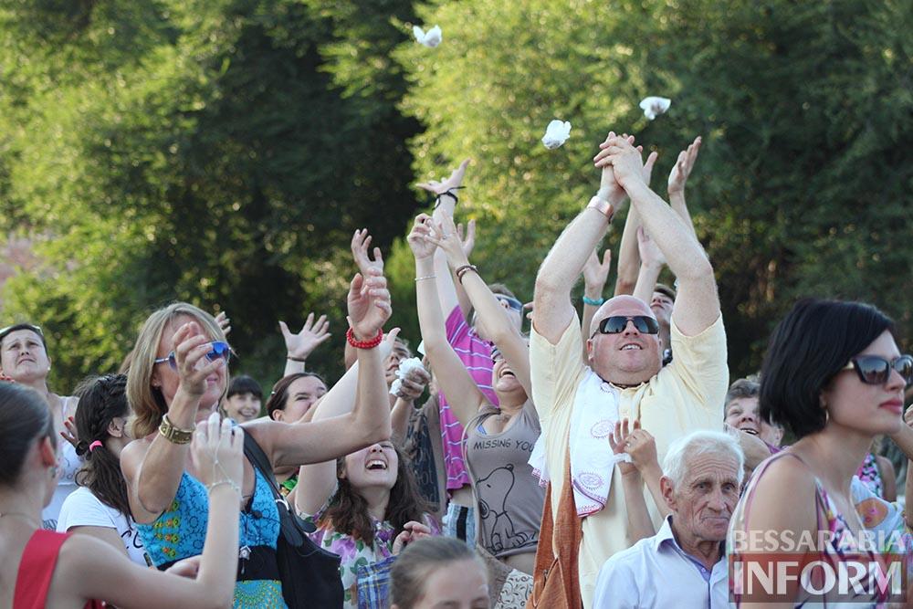 В Измаиле состоялся фестиваль индийской культуры Ратха-Ятра (фото, видео)