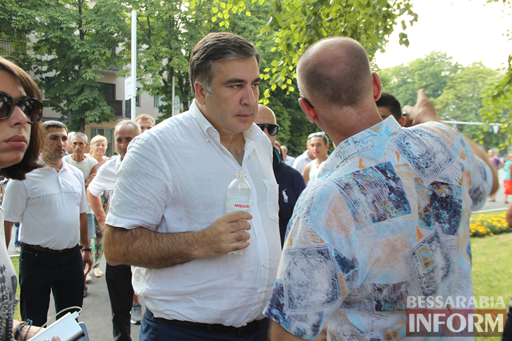 IMG_1121 Михаил Саакашвили посетил Измаил и выслушал наболевшие проблемы жителей города и района (фото)