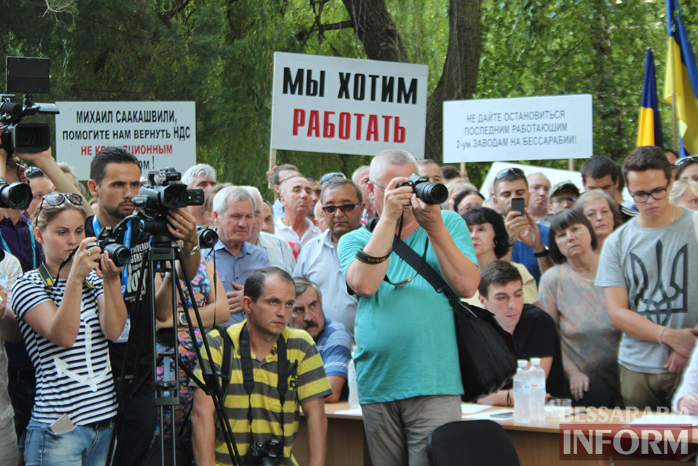 IMG_11291 Михаил Саакашвили посетил Измаил и выслушал наболевшие проблемы жителей города и района (фото)