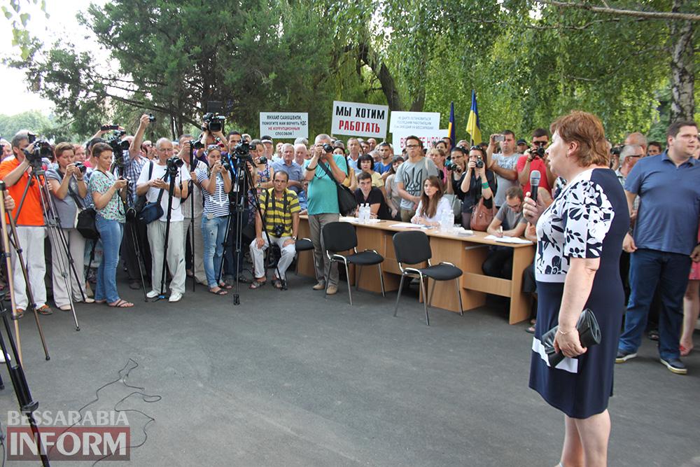 IMG_1132 Михаил Саакашвили посетил Измаил и выслушал наболевшие проблемы жителей города и района (фото)