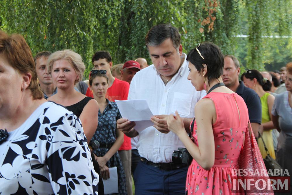 IMG_1152 Михаил Саакашвили посетил Измаил и выслушал наболевшие проблемы жителей города и района (фото)
