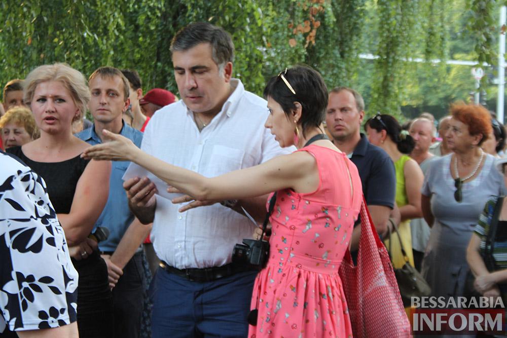 IMG_11541 Михаил Саакашвили посетил Измаил и выслушал наболевшие проблемы жителей города и района (фото)