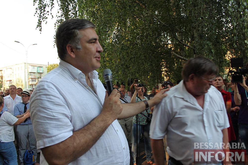 IMG_11911 Михаил Саакашвили посетил Измаил и выслушал наболевшие проблемы жителей города и района (фото)