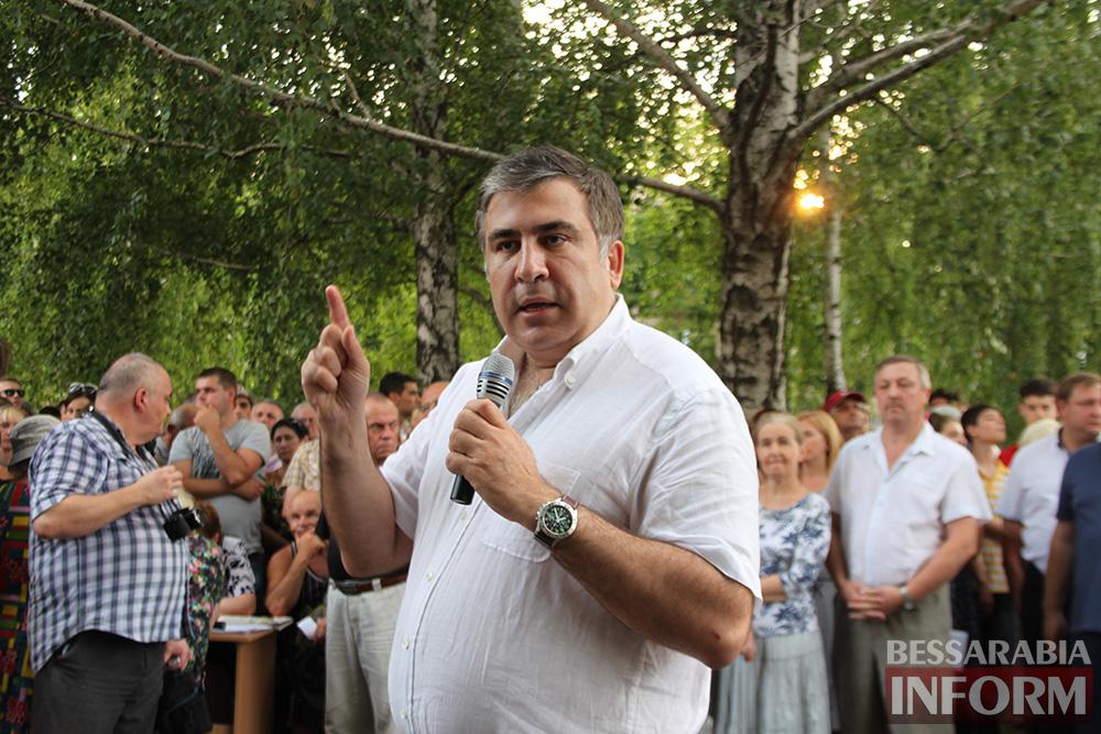 IMG_1350 Михаил Саакашвили посетил Измаил и выслушал наболевшие проблемы жителей города и района (фото)