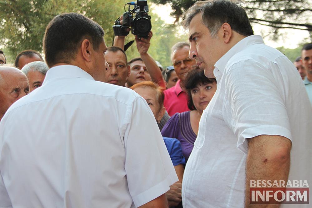 IMG_1379 Михаил Саакашвили посетил Измаил и выслушал наболевшие проблемы жителей города и района (фото)