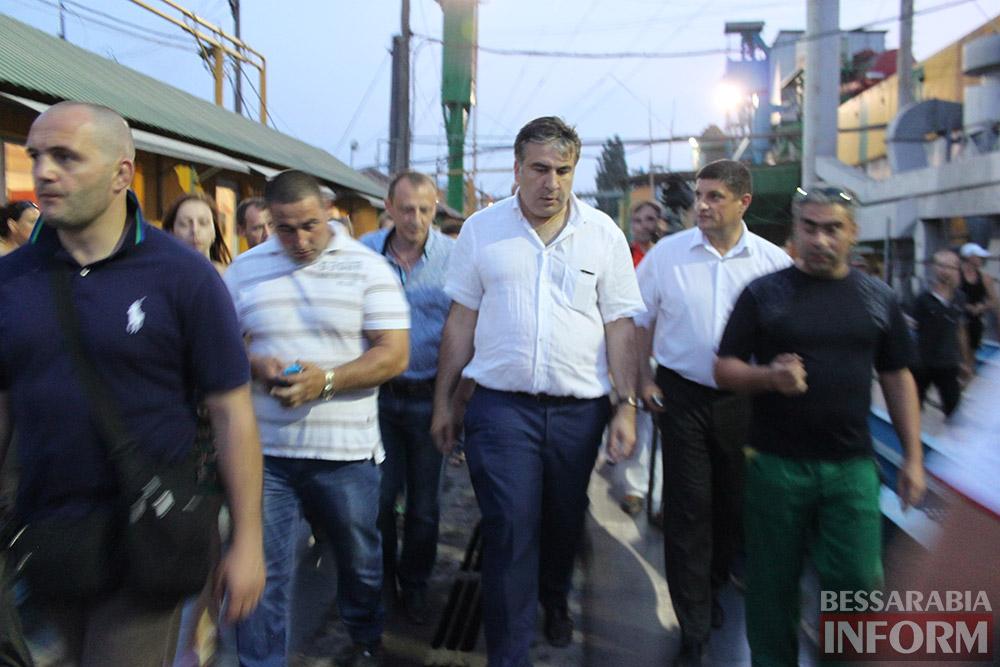 IMG_1450 Михаил Саакашвили посетил Измаил и выслушал наболевшие проблемы жителей города и района (фото)