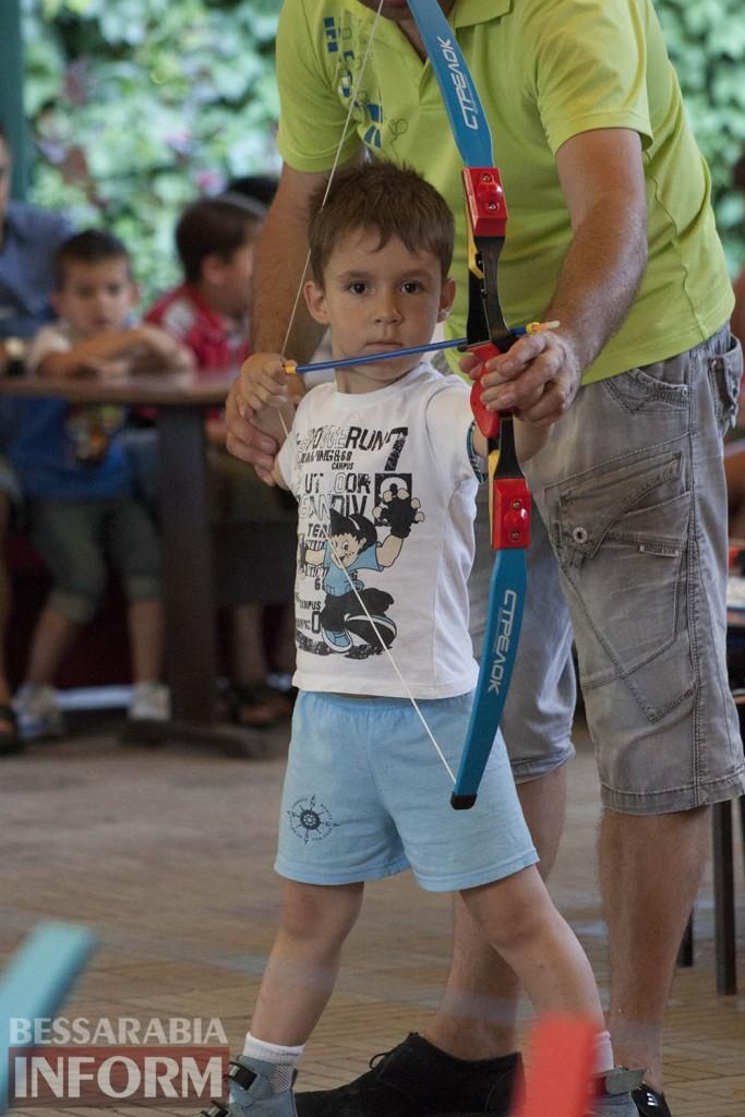 В Измаиле впервые прошли соревнования по стрельбе из лука (фоторепортаж)