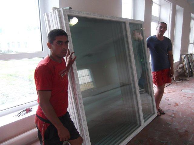 bagate В школах Измаильского района меняют окна (фото)