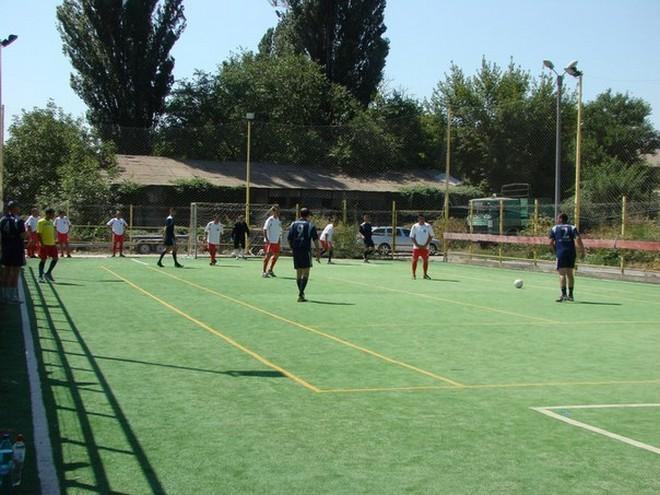 Измаильские пограничники сыграли в футбол со своими коллегами из Румынии