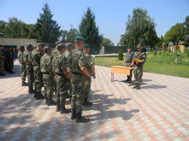 присяга-2 В Измаильском погранотряде военнослужащие присягнули на верность народу Украины