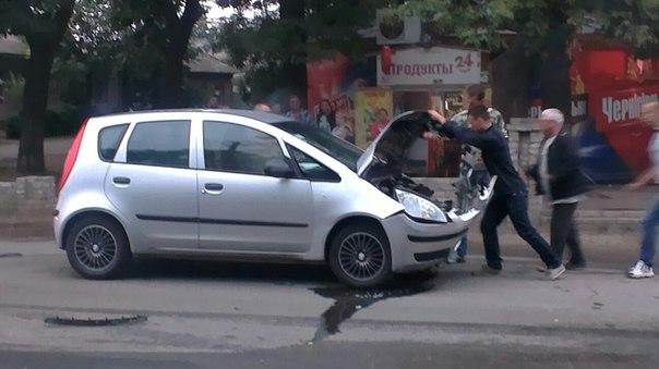 В Измаиле в ДТП пострадало четверо детей (фото)