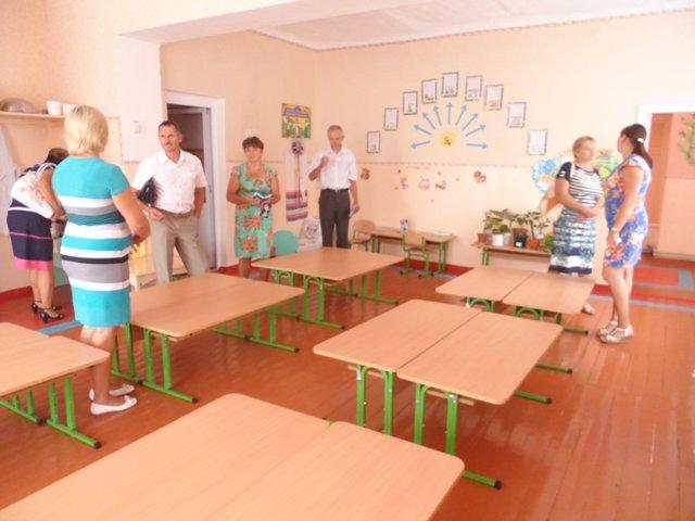 4 В Измаильском р-не проверили готовность школ к новому учебному году