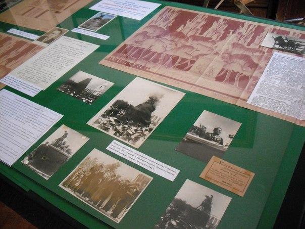 9bvWssUERcA В Измаиле открылась выставка, посвященная 70-летию установки памятника А.В Суворову